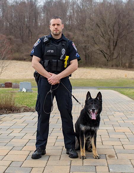Officer Lafond K-9 Kira