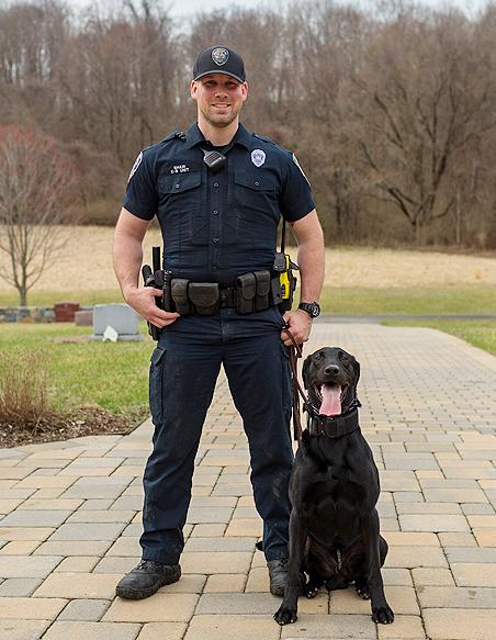 Officer Shaw K-9 Mattis